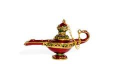 Magic ceramic lamp of Aladdin Royalty Free Stock Photo
