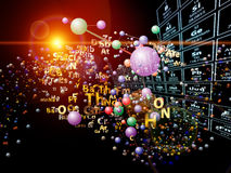 Magic of Chemical Elements Royalty Free Stock Photo