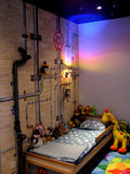 Magic children's room. Full of toys and colours Royalty Free Stock Images