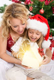 The magic of christmas stock image