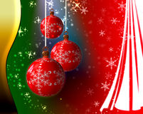 Magic Christmas Background Royalty Free Stock Images