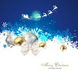 Magic christmas background. Colourful and beautiful christmas decoration Stock Image
