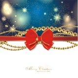 Magic christmas background Stock Photo