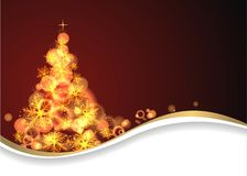 Magic christmas background Royalty Free Stock Photo