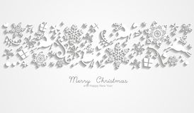 Magic christmas background Stock Photo