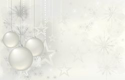 Magic christmas background with stars Stock Photography