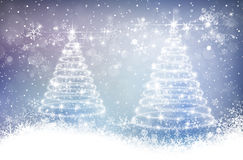 Magic christmas background Stock Photography