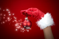 Magic christmas  ball Royalty Free Stock Photography