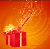 Magic christmas gift Royalty Free Stock Photo