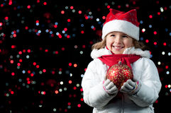 Magic Christmas night Royalty Free Stock Images