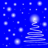 Magic christmas night. Vector illustration vector illustration