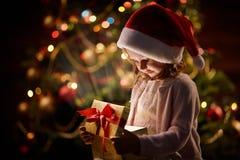 Magic on Christmas night Stock Image