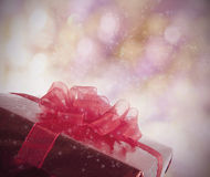 Magic Christmas present Royalty Free Stock Photo