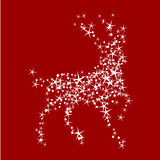 Magic christmas reindeer Royalty Free Stock Images