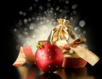 Magic Christmas still life Royalty Free Stock Photography