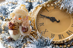 Magic christmas time royalty free stock image