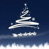 The Magic Christmas Tree Royalty Free Stock Photo