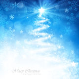 Magic Christmas tree Royalty Free Stock Photo