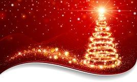Magic Christmas Tree Royalty Free Stock Photos