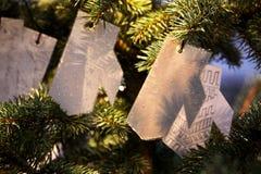 Magic Christmas tree Royalty Free Stock Photography