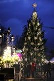 Magic Christmas tree Stock Images