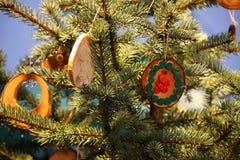 Magic Christmas tree Royalty Free Stock Image