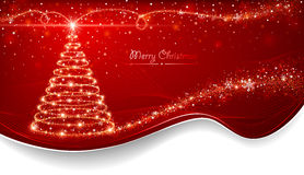 Magic Christmas tree Royalty Free Stock Images