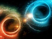 Magic Circles Stock Photo