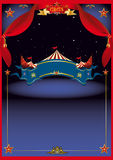 Magic Circus by night stock illustration