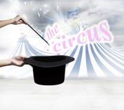 Magic circus Stock Image
