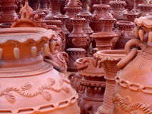 Magic of Clay. Handicraft Royalty Free Stock Photo