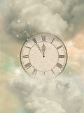 Magic clock Stock Photography