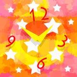 Magic clock Royalty Free Stock Image