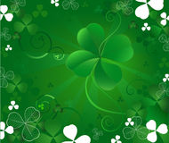 Magic clover Stock Photography