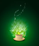 Magic Coffee Stock Images