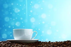 Magic coffee Royalty Free Stock Images