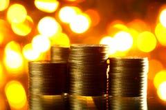 Magic coins Stock Photos