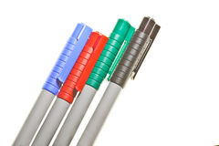 Magic color pens Royalty Free Stock Image