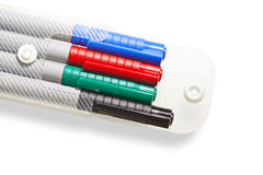 Magic color pens Royalty Free Stock Images