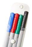 Magic color pens Stock Photos