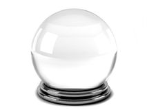 Magic crystal ball Stock Image