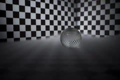 Magic crystal ball Stock Photography