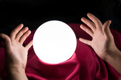 Magic Crystal Ball Stock Images