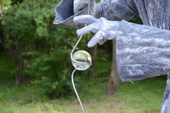 Magic crystal ball royalty free stock images