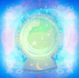 Magic crystal ball Royalty Free Stock Photo