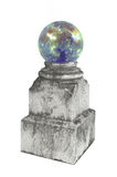Magic Crystal on a pedestal. Royalty Free Stock Photos