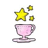 magic cup of tea cartoon Stock Photography