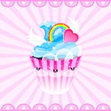Magic cupcake Stock Images
