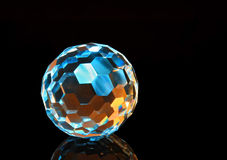 Magic Cut Crystal Sphere 3 Royalty Free Stock Images