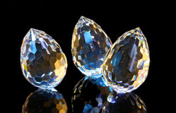 Magic cut crystals 1 Royalty Free Stock Photo